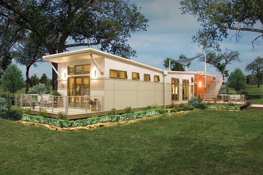 Affordable eco friendly modular homes green rednecks for Eco green builders